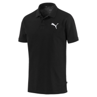 Tricou polobarbati Puma Essentials Pique negru 851759 21