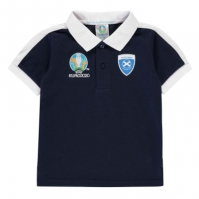 Tricouri Polo UEFA Euro 2020 Scotland baietei bleumarin
