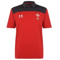 Tricouri Polo Under Armour Wales Rugby 2019 2020 pentru Barbati
