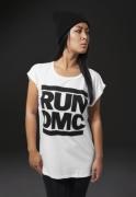 Tricouri Run DMC pentru femei alb Mister Tee