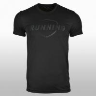 Tricou negru alergare adidas Graphic Barbati