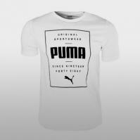 Tricouri sport Box Puma Tee Puma White Barbati