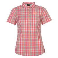 Jack Wolfskin Hot Fairfo cu maneca scurta Shirt pentru Femei