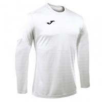 Tricouri sport Joma Campus alb cu maneca lunga
