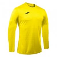 Tricouri sport Joma Campus galben cu maneca lunga