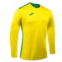 Tricouri sport Joma Campus galben-verde cu maneca lunga