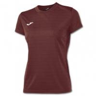 Tricouri sport Joma Campus II Ruby cu maneca scurta pentru Femei