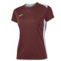 Tricouri sport Joma Campus II Ruby-sky albastru cu maneca scurta pentru Femei