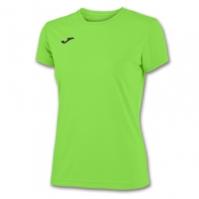 Tricouri sport Joma T- Combi verde Fluor cu maneca scurta