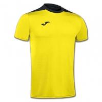 Tricouri sport Joma T- Spike galben-negru cu maneca scurta