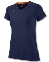 Tricouri sport Joma T- alergare Purple cu maneca scurta
