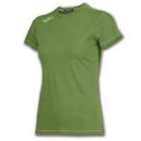 Tricouri sport Joma T- Logo Invictus verde cu maneca scurta