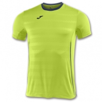 Tricouri sport Joma T- Volei Lime cu maneca scurta