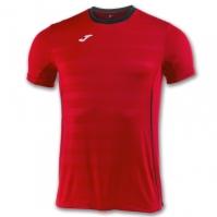 Tricouri sport Joma T- Volei rosu cu maneca scurta