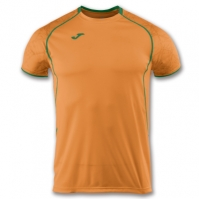 Tricou jogging Record Joma II Orange-verde cu maneca scurta