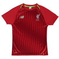 New Balance Liverpool Pre Match Shirt 2018 2019 pentru copii