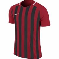 Tricouri sport Nike cu dungi Division III JSY SS rosu-negru 894102 657 copii