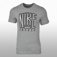 Tricou bumbac Nike M Nsw Tee Swoosh Bb Core Barbati