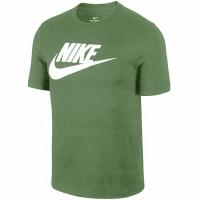 Tricouri sport Nike Tee Icon Futura barbati verde AR5004 326