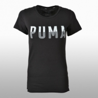 Tricouri sport Puma Athletic Tee Cotton Femei