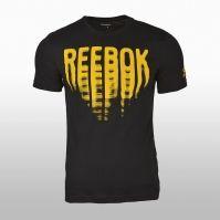 Tricou negru cu imprimeu Reebok Vibes BQ8330 barbati