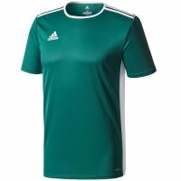 Tricou Adidas Entrada 18 verde CD8358 copii teamwear adidas teamwear