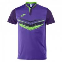 Tricouri tenis Joma Terra II Purple cu maneca scurta