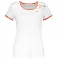 Tricouri tenis Joma Terra II Sky alb cu maneca scurta