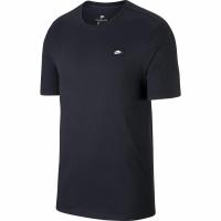 Tricou Nike M LBR Shoebox HTHR negru barbati , AH7925 010