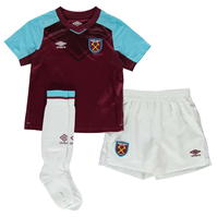 Umbro West Ham Home Mini Kit 2017 2018