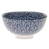 Ashwood albastru Print Small Bowl