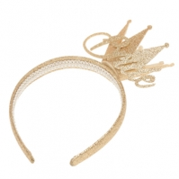 Uncut Fancy Dr Bride Crown Hairband