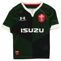 Under Armour Wales Rugby Alternate Shirt 2019 2020 pentru copii