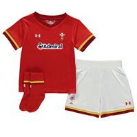 Under Armour Wales Rugby Home Mini Kit pentru baieti pentru Bebelusi