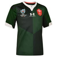 Under Armour Wales RWC 2019 Alternate Shirt pentru copii