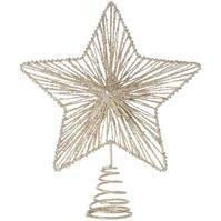 House of Fraser culoarea sampaniei Glittered Star Tree Topper