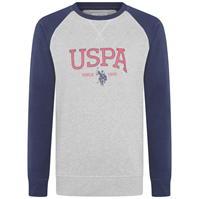Bluze cu guler rotund US Polo Assn Logo