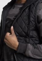 Vesta matlasata barbati negru-negru Urban Classics