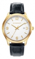 Viceroy Watches Mod 401035-95 - Date - Stainless Steel Case - 40 Mm - din piele barbati