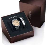 Viceroy Watches Mod 471015-97 - Stainless Steel Case - 42 Mm - Leathercuoio Strap barbati