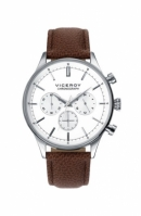 Viceroy Watches Steel Chronographmod 40483 Wr: 100m 41 Mm