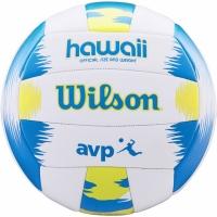 volei Wilson AVP Hawaii alb albastru galben WTH482657 copii