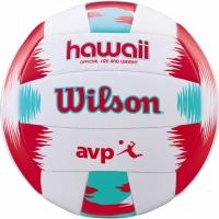 volei Wilson AVP Hawaii alb rosu verde WTH482696 copii