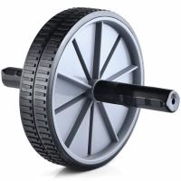 Roata ab roller pentru exercitii abdomen Profit gri / negru DK 3216