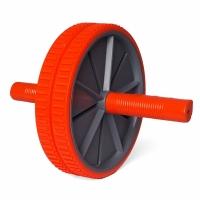Roata ab roller pentru exercitii abdomen Profit gri / portocaliu DK 3216