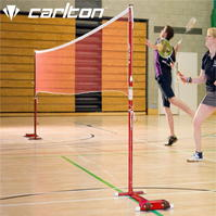 Carlton Wheelaway Badminton Posts and Net