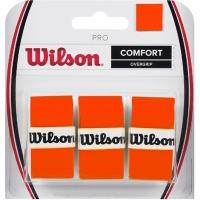 Wilson Pro Comfort Overgrip portocaliu wrapper WRZ470820 barbati