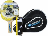 Husa Set Ping Pong DONIC OVTCHAROV 500 / paleta + 3 mingi + / 788705