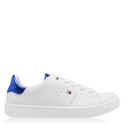 Steag Adidasi sport Tommy Hilfiger Lace alb albastru x336