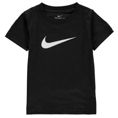 Tricou Nike Swoosh baietei negru